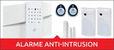 Alarmes anti-intrusions