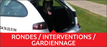 Rondes / interventions / gardiennage